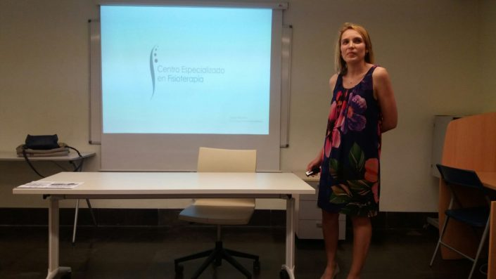 Charla Fisioterapia y mujer